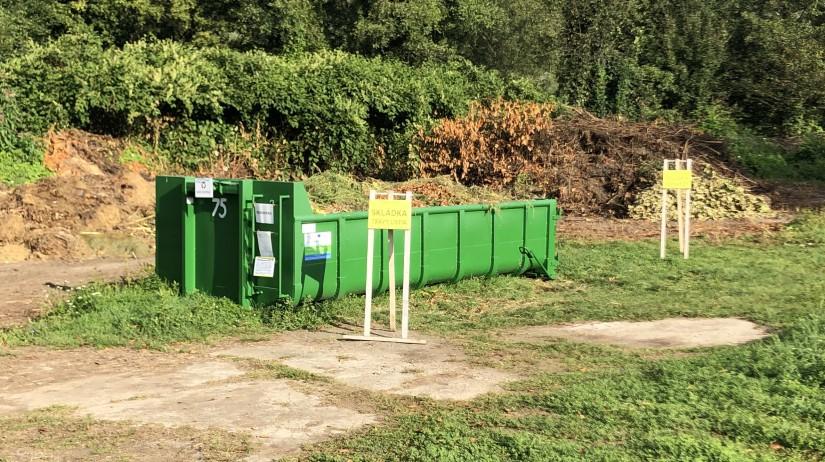 Upozornenie - Zhodnocovanie biologicky rozložiteľného odpadu